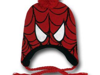 Spider-Man Costume Mask Peruvian Beanie