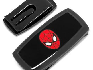 Spider-Man Cushion Money Clip