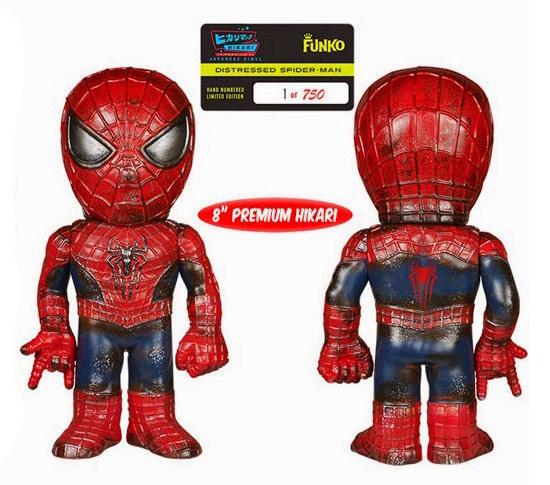 Spider-Man Distressed Premium Hikari Sofubi Figure