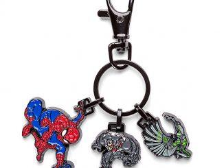 Spider-Man Enamel Keychain