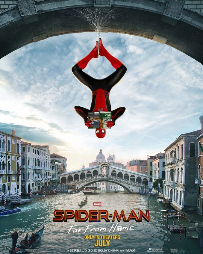 Spider Man Far From Home Teaser Trailer Movie Poster