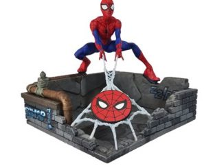 Spider-Man Finders Keyper Statue