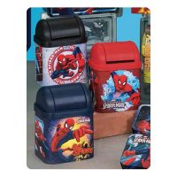 Spider-Man Flip Lid Desktop Tin Set