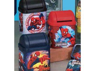 Spider-Man Flip Lid Desktop Tin Set