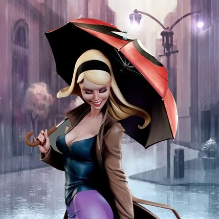 Spider Man Gwen Stacy Statue