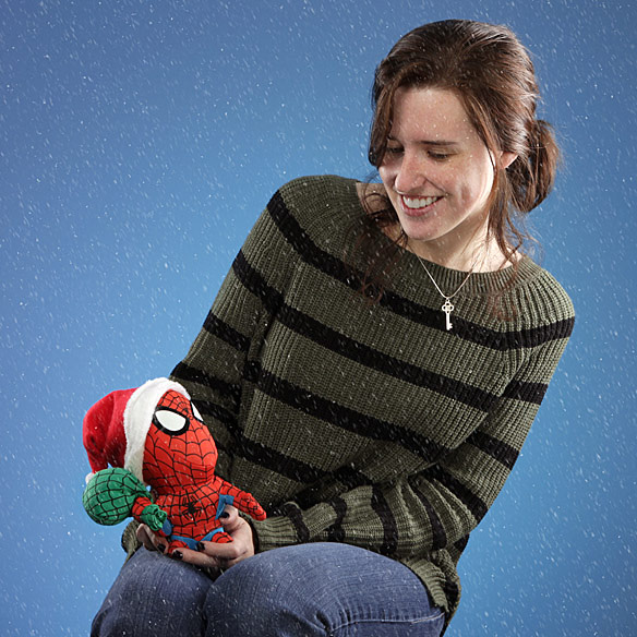Spider Man Holiday Plush Toy