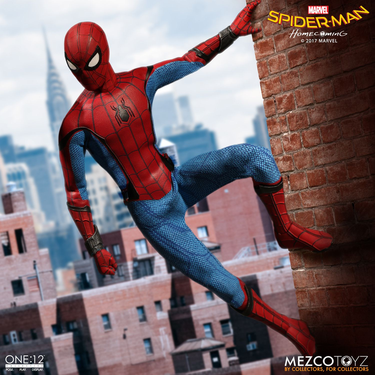Spider-Man Homecoming One12 Action Figure & Spider-Man: Homecoming One:12 Collective Action Figure