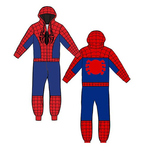 Spider-Man Hooded Onesie