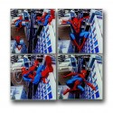 Spider Man In The City Glass Coaster Set