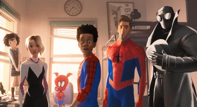 Spider Man Into the Spider Verse Movie