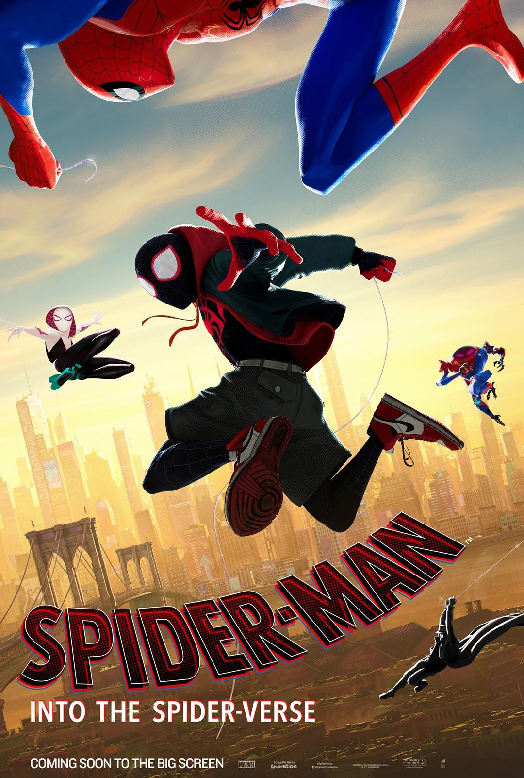 spider man into spider verse