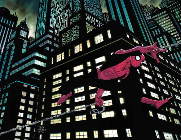 Spider-Man John Romita Jr and Dan Slott Signed and Numbered Limited Edition Giclee Print