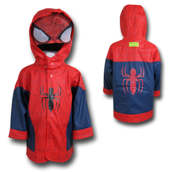 Spider-Man Kids Costume Rain Coat