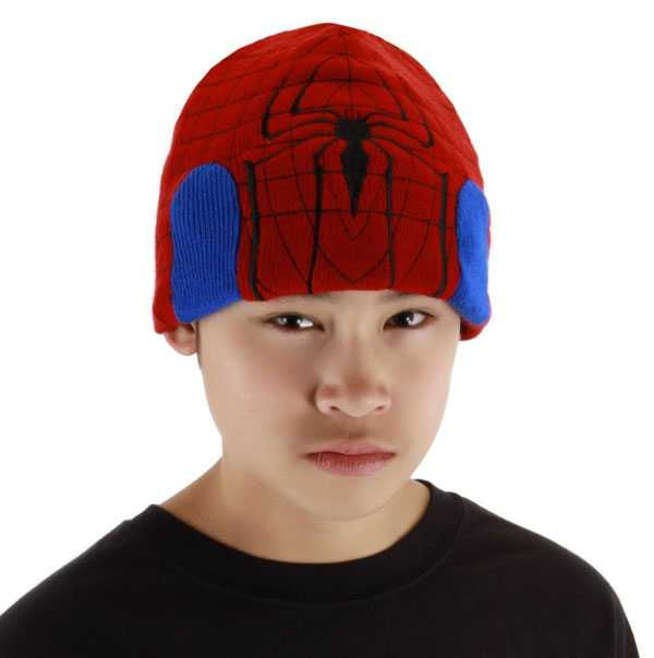 Spider-Man Knit Beanie Hat