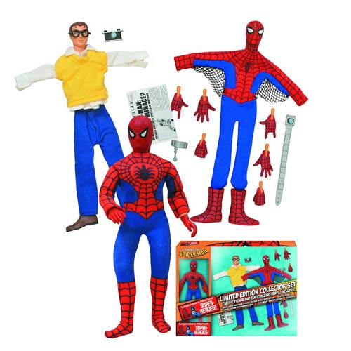 Spider-Man Limited Edition 8-Inch Retro Action Figure Set