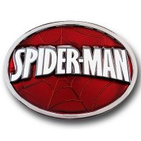 Spider Man Logo Belt Buckle