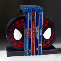 Spider Man Logo Bookends Set