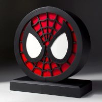 Spider-Man Logo Bookends Statue Set