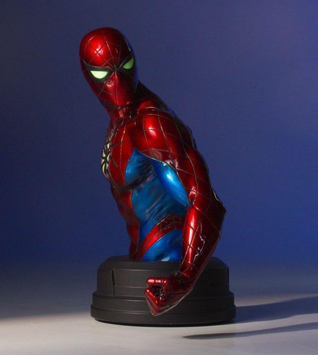 Green Mini Cooper >> Spider-Man Mark IV Suit Mini Bust