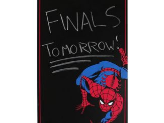 Spider-Man Marvel Comics Chalkboard