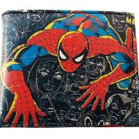Spider Man Marvel Comics Close Up Collection Wallet