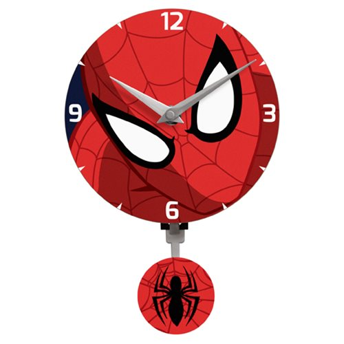 Spider-Man Mini Motion Wall Clock