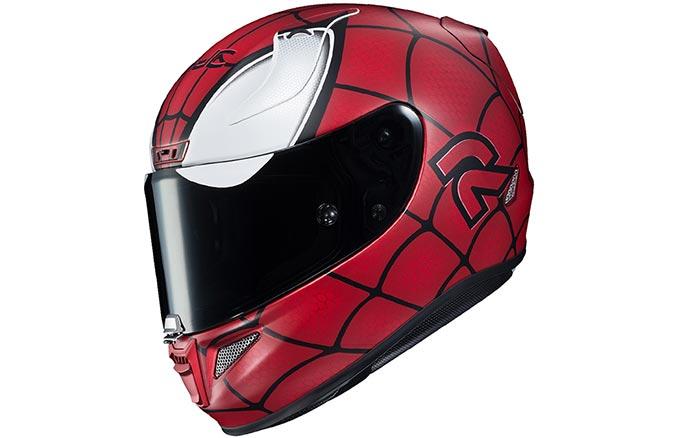 Spider Man Motorcycle Helmet
