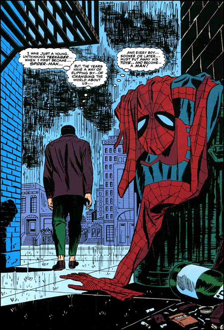 Spider Man No More