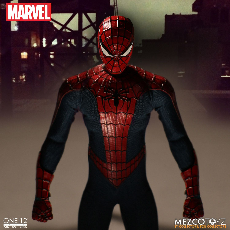 spider man one 12 collective action figure. Black Bedroom Furniture Sets. Home Design Ideas
