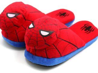Spider-Man Plush Slippers