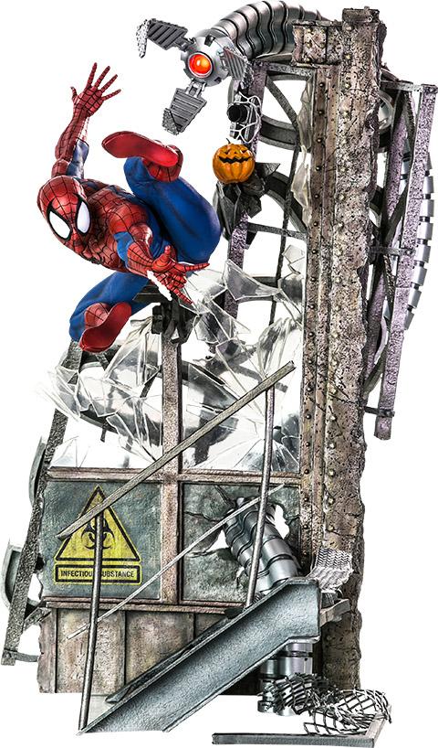Spider-Man Polystone Statue Legacy Replica