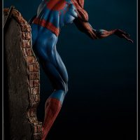 Spider-Man Polystone Statue rear view