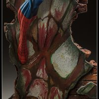 Spider-Man Polystone Statue wall