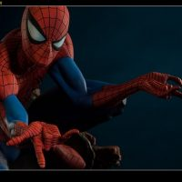 Spider-Man Polystone Statue with mask