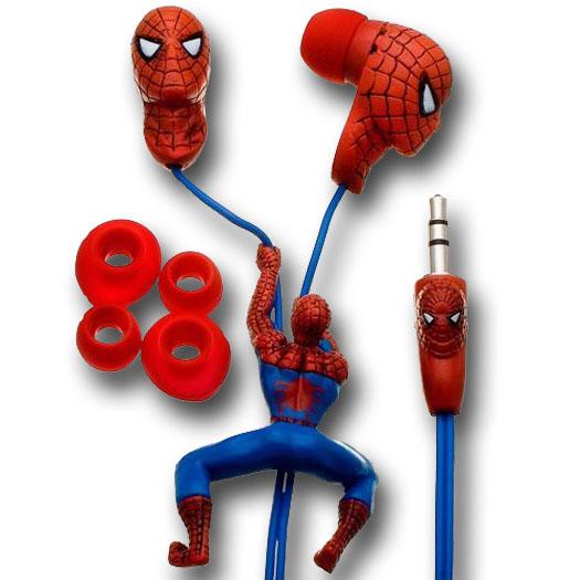 Spider-Man Slider Earbuds