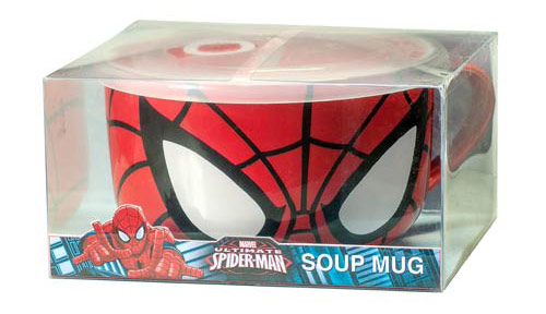 Spider Man Soup Mug