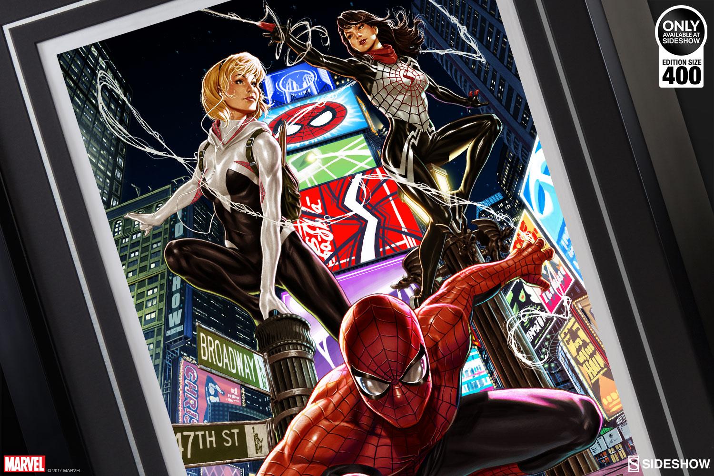 Spider Man Spider Verse Art Print