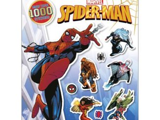 Spider-Man Ultimate Sticker Collection Paperback Book