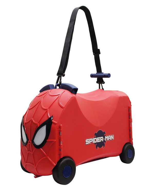 Spider-Man VRUM Ride-On Toy Box