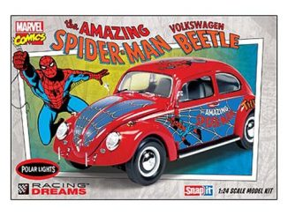 Spider-Man VW Beetle 1 24 Scale Snap-Fit Model Kit