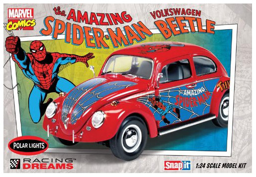 Spider Man VW Beetle Model Kit