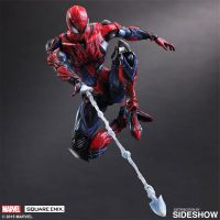 Spider-Man Variant Square Enix Figure shooting web
