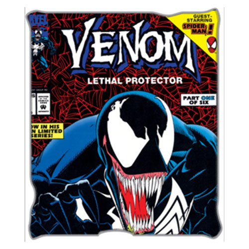 Spider-Man Venom Lethal Protector Throw Blanket