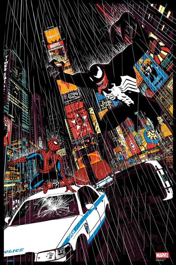 Spider-Man Vs. Venom Print