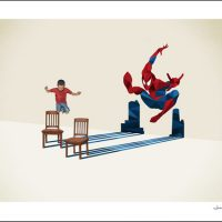 Spider-Man We All Have Secrets Fine Art Print