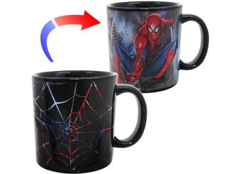 Spider-Man Web Slinger Heat Changing Mug