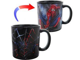 Spider-Man Web Slinger Heat Changing Mug
