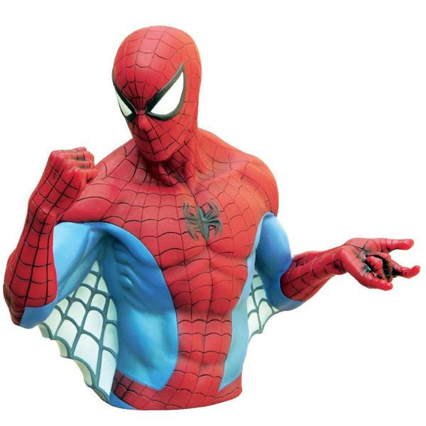 Spider Man Bust Bank