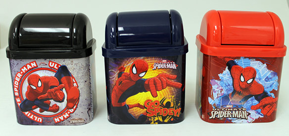 Spider-man Flip Lid Desktop Tin