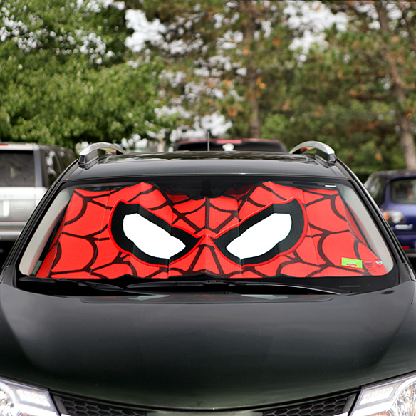 SpiderMan Car Windshield Sunshade